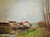 A.Sisley, Abend in Moret, Ende Oktober by AKG  Images