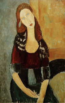 A.Modigliani, Jeanne Hebuterne, sitzend von AKG  Images