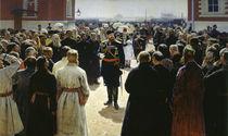 Alexander III. empfaengt.. / Gem.v.Repin von AKG  Images
