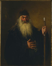 Repin, Protodiakon / 1877 by AKG  Images