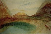 W.Turner, See in den Schweizer Bergen von AKG  Images