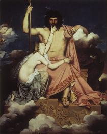 J.A.D.Ingres, Jupiter und Thetis by AKG  Images