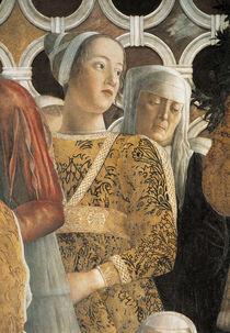Barbara Gonzaga v.Wuerttemberg / Mantegna by AKG  Images