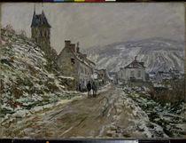 C.Monet, Strassen nach Vetheuil im Winter by AKG  Images