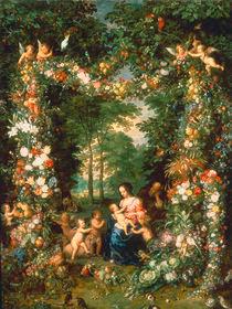 Jan Bruegel d.Ae., Die Heilige Familie von AKG  Images
