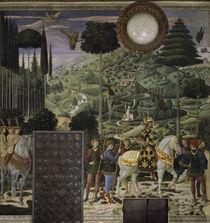 B.Gozzoli, Zug des Koenigs Melchior von AKG  Images