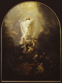 Rembrandt, Himmelfahrt Christi by AKG  Images