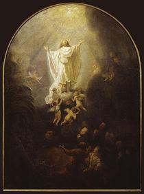 Rembrandt, Himmelfahrt Christi von AKG  Images