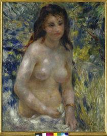 Renoir/ Torse de femme au soleil/um 1876 von AKG  Images