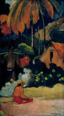 P.Gauguin/ Mahana maa II(Tag d.Wahrheit) von AKG  Images