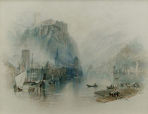 William Turner, Burgen am Rhein von AKG  Images