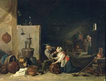 D.Teniers d.J., Der Alte und die Magd von AKG  Images