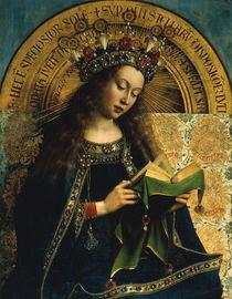 Jan v.Eyck, Genter Altar, Maria (Det.) von AKG  Images