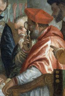 P.Veronese, Kardinal mit Einglas by AKG  Images
