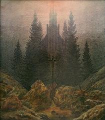 C.D.Friedrich, Das Kreuz im Gebirge by AKG  Images