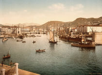 Nizza, Port de Limpia / Foto um 1895 by AKG  Images