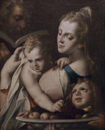 B.Spranger, Hl.Familie mit Johannesknabe by AKG  Images