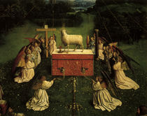 Agnus Dei /Jan v.Eyck, Genter Altar 1432 by AKG  Images