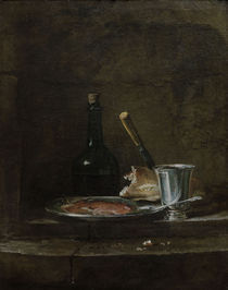 J.B.S.Chardin, Vorbereitung des Fruehst. by AKG  Images