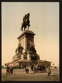 Garibaldi Denkmal Rom / Photochrom by AKG  Images