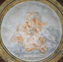 G.L.Bernini, Joseph mit Jesusknabe von AKG  Images