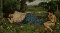 J.W.Waterhouse, Listen to my Sweet... von AKG  Images