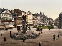 Frankfurt a.M, Rossmarkt u.Goetheplatz by AKG  Images