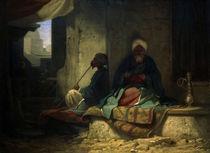 C.Spitzweg, Im tuerkischen Bazar by AKG  Images