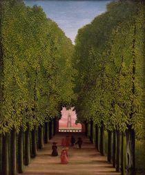 H.Rousseau, Allee im Park Saint Cloud by AKG  Images