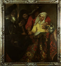 Vermeer/ Bei der Kupplerin/ 1656 by AKG  Images