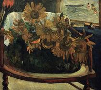 P.Gauguin, Sonnenblumen auf einem Sessel by AKG  Images