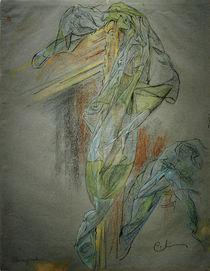Carl Larsson, Rahmen und Drapierung... von AKG  Images
