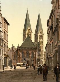 Bremen, Rathaus / Photochrom von AKG  Images