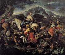 L.Giordano, Reise Rebekkas nach Kana von AKG  Images