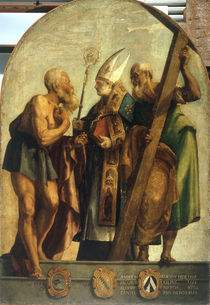 J.Tintoretto, Hieronymus, Alvise u.Andr. by AKG  Images