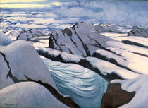 F.Vallotton, Hochgebirge by AKG  Images