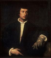 Tizian/Der Mann mit dem Handschuh/1523 von AKG  Images
