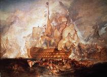 Schlacht bei Trafalgar / Turner by AKG  Images