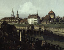 Dresden, Saturnbastei / Gem.v.Bellotto by AKG  Images