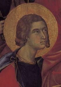 Duccio, Maesta, Kopf des Ansanus von AKG  Images