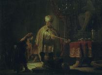 Rembrandt, Daniel und Cyrus von AKG  Images