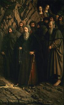 'Einsiedler' (Hl.Antonius u.a.)/ v. Eyck by AKG  Images