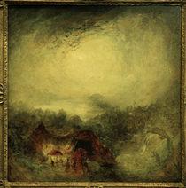 W.Turner, Der Abend der Sintflut von AKG  Images