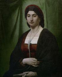 A.Feuerbach, Nanna mit Perlenkette by AKG  Images