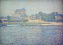 C.Monet, Kirche in Vernon by AKG  Images