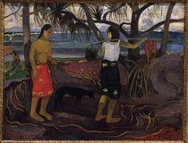 P.Gauguin, Unter den Padanusbaeumen von AKG  Images