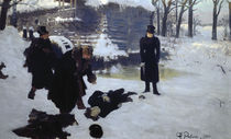 Puschkin, Eugen Onegin / Gem.v.Repin by AKG  Images