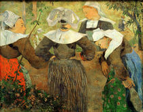 P.Gauguin, Bretonische Baeuerinnen von AKG  Images