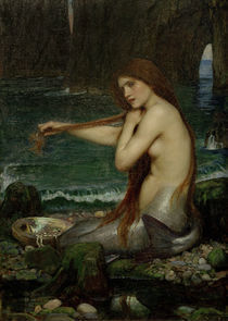 J.W.Waterhouse, Eine Nixe, 1900 by AKG  Images