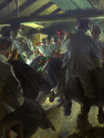 Anders Zorn, Tanz in Gopsmoorkate/ 1914 by AKG  Images